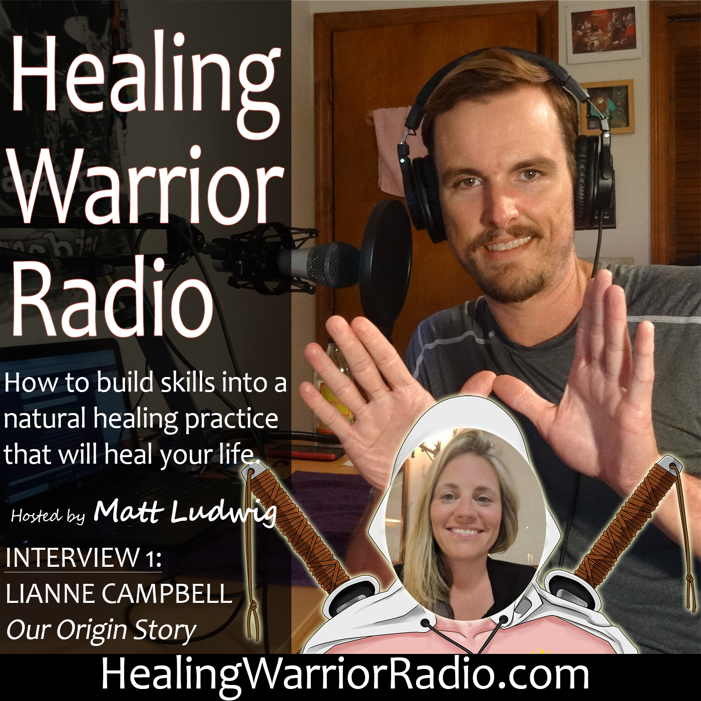 Episode 2: Interview – Matt and Lianne Psoriasis Healing Warrior Origin Story Dualcast – Leaky Gut Syndrome & Psoriasis Connection – Diet, Gut Bacteria, Skin Health