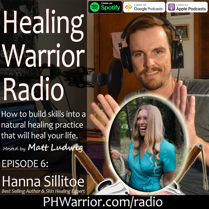 Interview with Hanna Sillitoe – Best Selling Author – Healing Psoriasis, Eczema and Acne Naturally